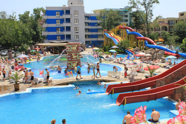 Hotel Kuban Sunny Beach Bulgarien