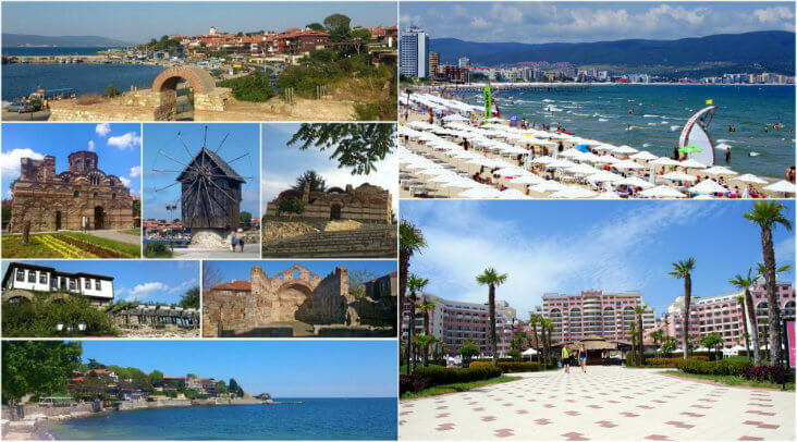 Holiday in Bulgaria beach resorts