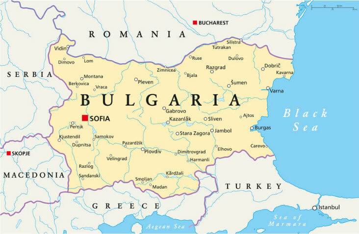 Where is Bulgaria?