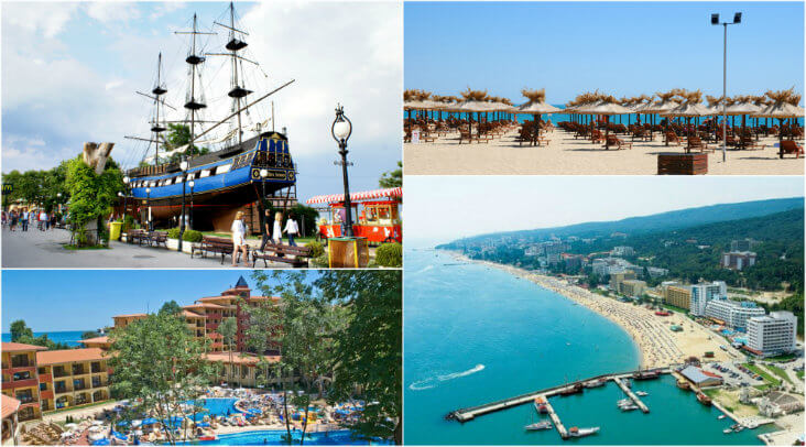 Golden Sands Bulgaria holidays