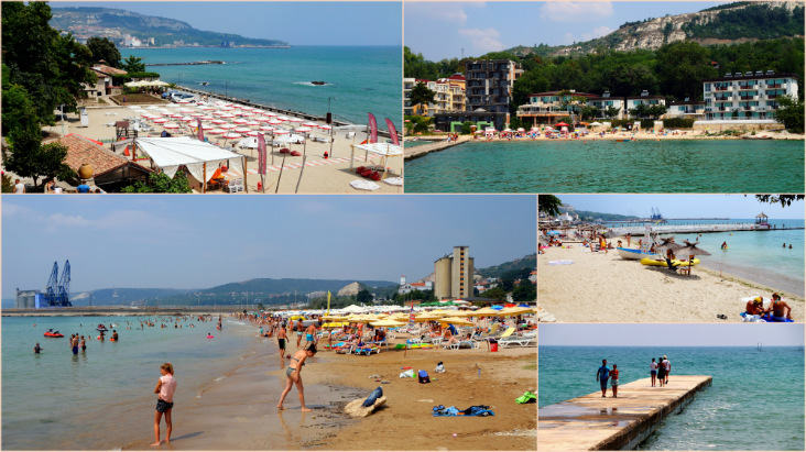 Balchik, Bulgaria: Beaches