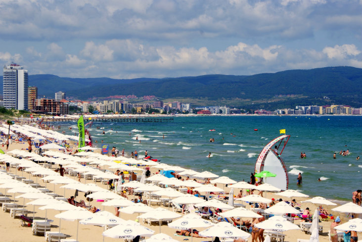 Bulgarian Black sea resorts: Sunny Beach